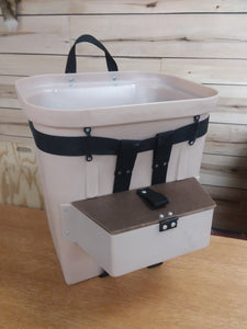 Fiber Tuff Packbasket With Compartment