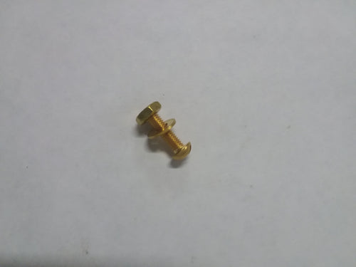 #10 Brass Pan Bolts
