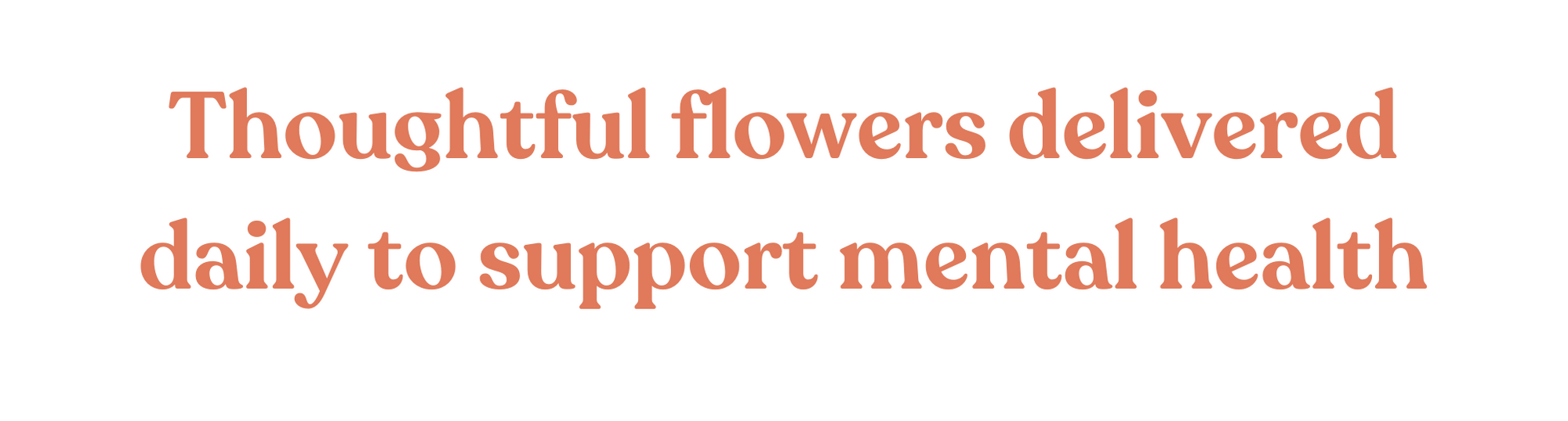 Melbourne Flower Delivery. Thoughtful flowers delivered daily to support mental health.