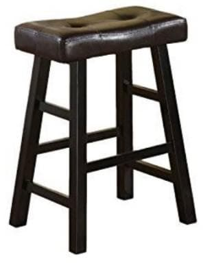24 Inch Black Gaming Stools