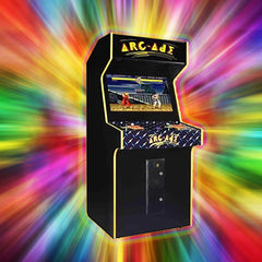 "32"" Stand Up Two Player HURRICANE w/ Trackball Plays 80's Games and Modern Games - Pro Arcades"