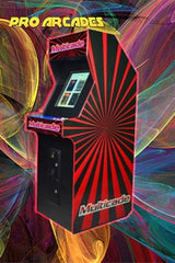 Classic Stand Up Arcade. Plays Classic 80's Games - Pro Arcades