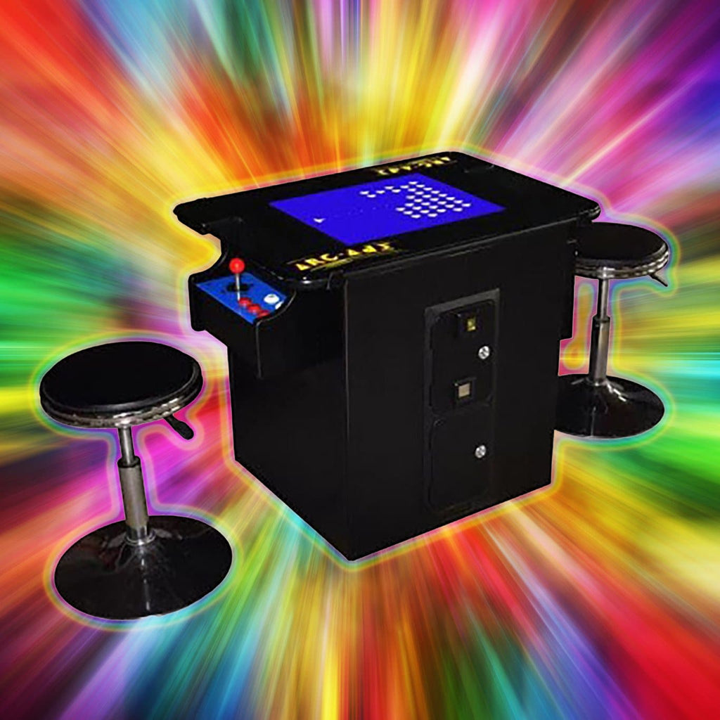 Classic LED Cocktail Arcade Cabinet *Price Drop
