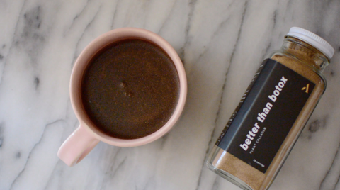 Better Than Botox Coffee Adaptogen Recipe