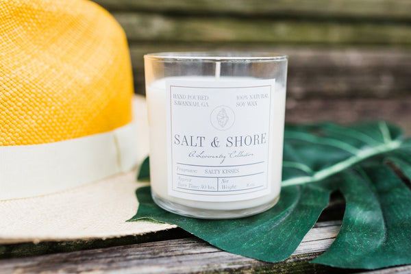 Salty Kisses Soy Wax Candle