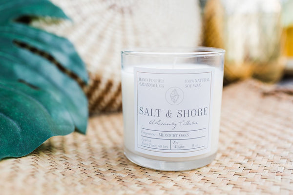 Midnight Oaks Soy Wax Candle