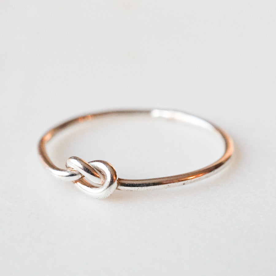 Silver Love Knot
