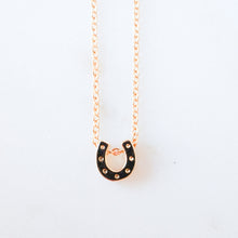 Load image into Gallery viewer, Horseshoe Necklace