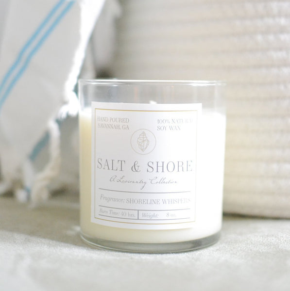Shoreline Whispers Soy Wax Candle