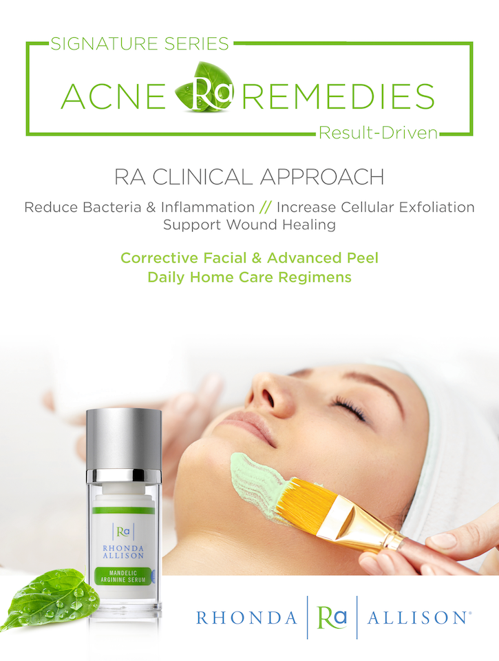 Acne Remedies Counter Card