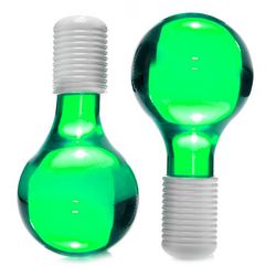 Green Ice Globes