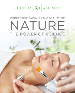 Corrective Facials Counter Card