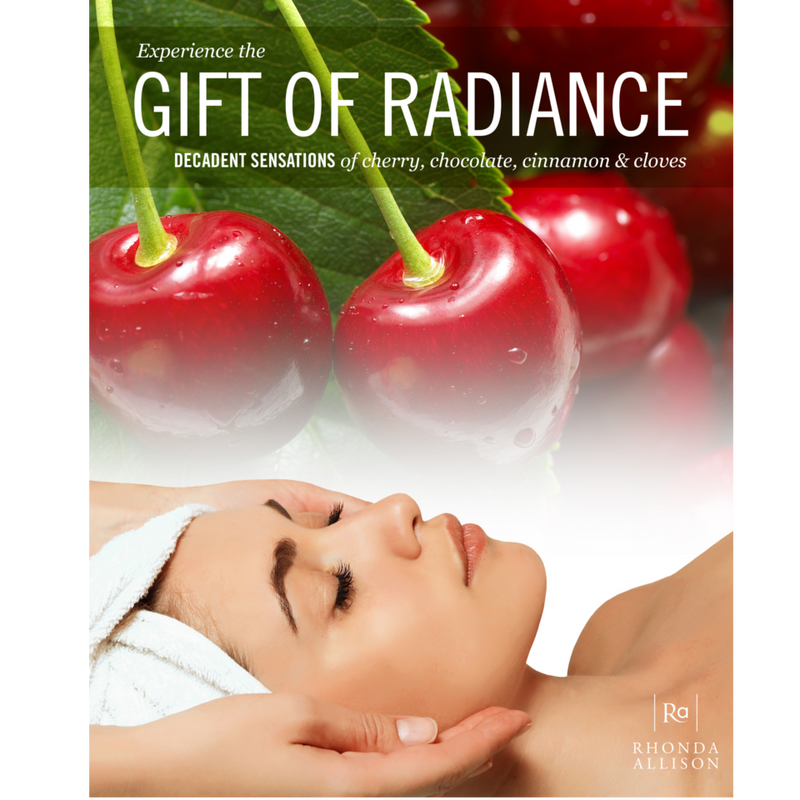 Small Poster Gift of Radiance Facial