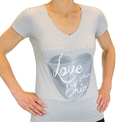Love Your Skin T-Shirt Gray