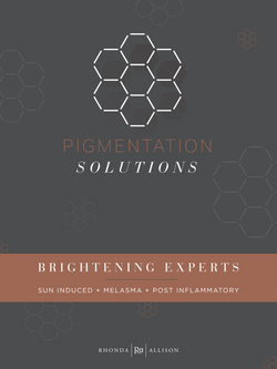 Pigmentation Solutions Counter Card – Brightening Experts
