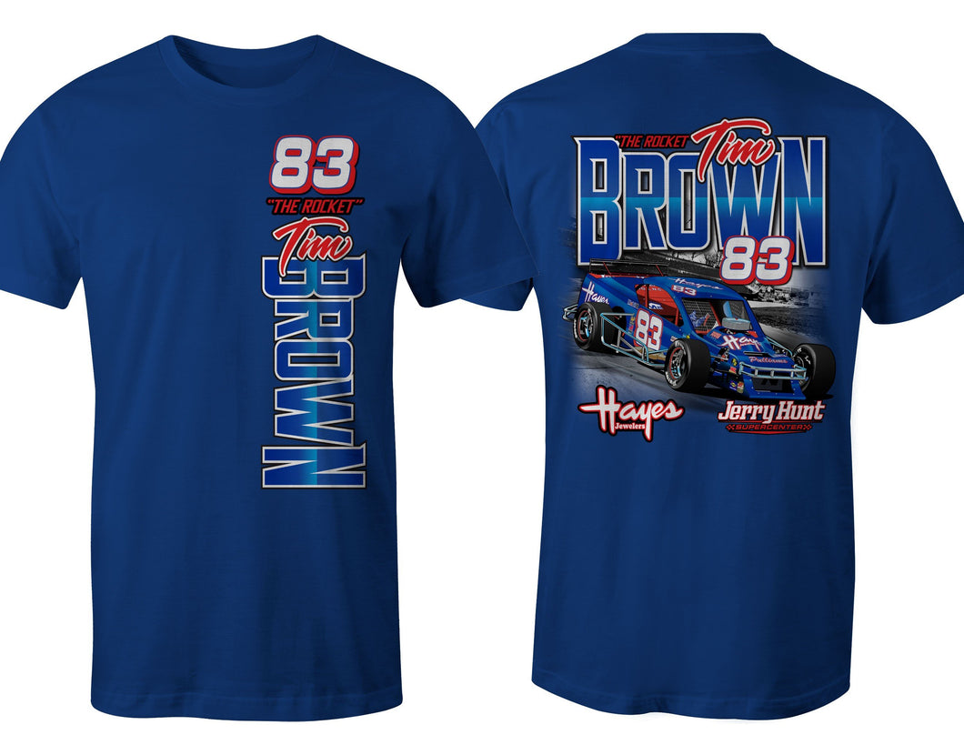 Tim Brown Race Car T-Shirt