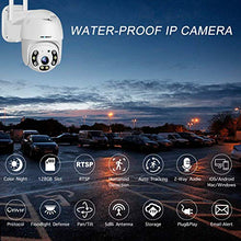 Load image into Gallery viewer, [Color Night] Floodlight Outdoor WiFi Security Camera - GENBOLT AI Home Security Automatic Human Tracking Pan Tilt Wireless IP Surveillance Dome Camera 1080P,AI Humanoid Alarm,Active Siren with Lighting Defense,Customizable Motion Detection,Instant Image