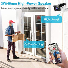 Load image into Gallery viewer, [Human Tracking] Floodlight WiFi Security Camera Outdoor - GENBOLT AI Automatic Tracking Pan Tilt Wireless Home Surveillance Bullet IP Camera 1080P,AI Humanoid Alarm,Active Siren with Lighting Defense,Customizable Motion Detection,Instant Image Activity A