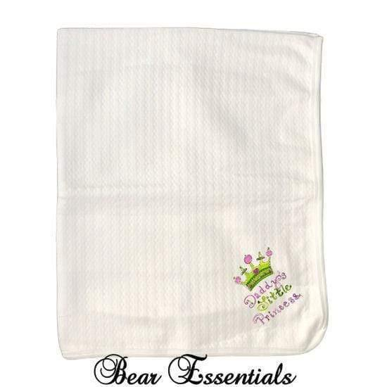 Daddy's Princess Baby Blanket