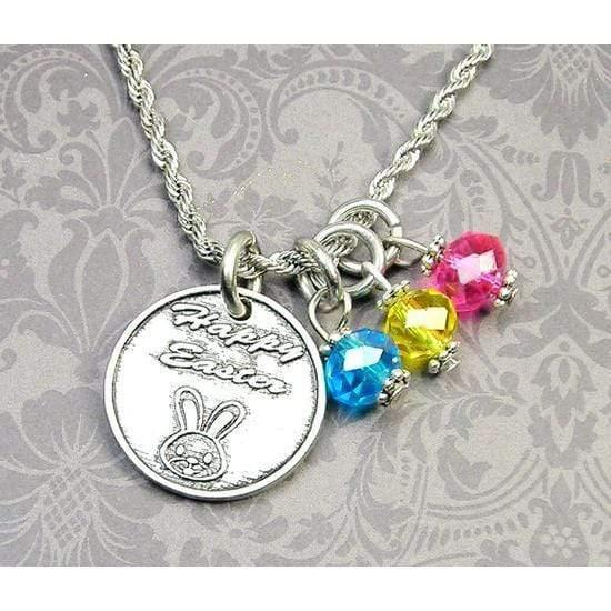 Happy Easter Kids Necklace
