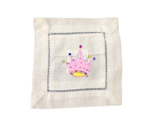 Crown Tooth Fairy Pillow