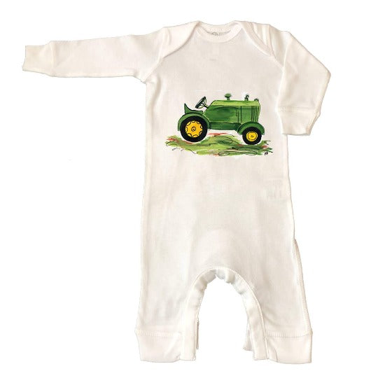 Green Tractor Coveralls