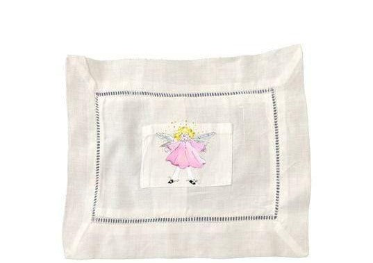 Large Angel Tooth Fairy Pillow