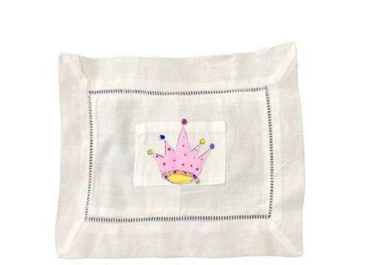 Large Crown Tooth Fairy Pillow
