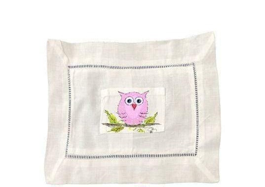 Large Owl Tooth Fairy Pillow