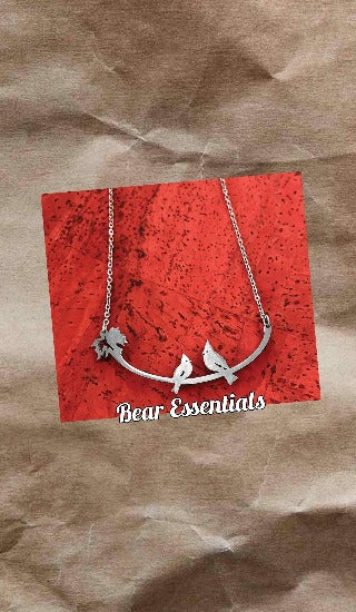 Cardinals Stainless Steel Necklace