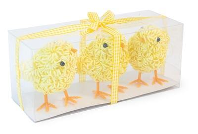 Easter Chick Trio