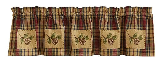 South River Lined Valance