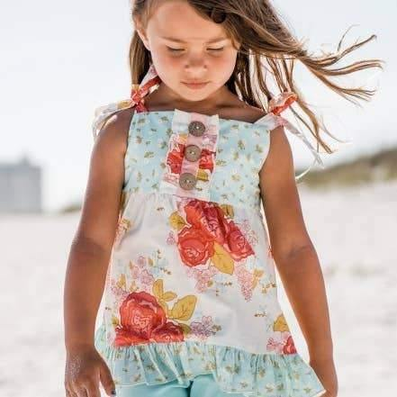 Fly High Floral Tunic Top