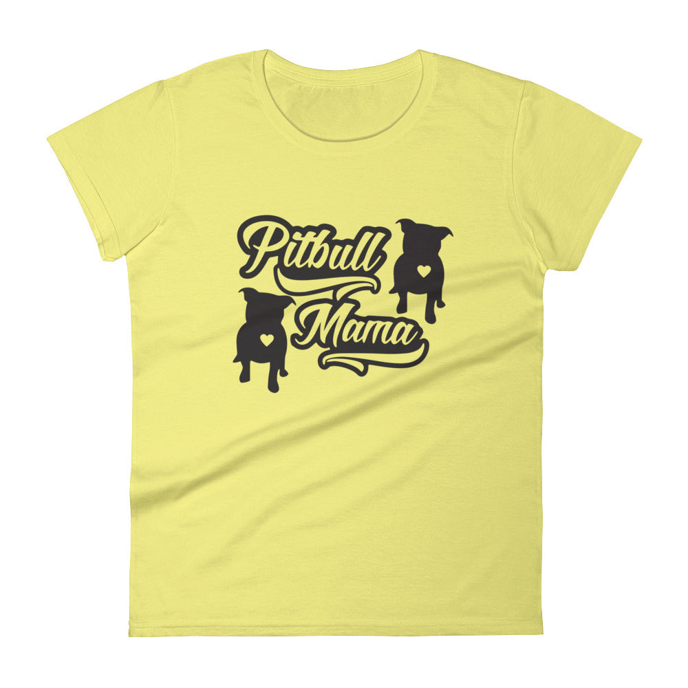 Pitbull Mama Women's short sleeve t-shirt