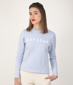 Sweat Artisan pastel bleu