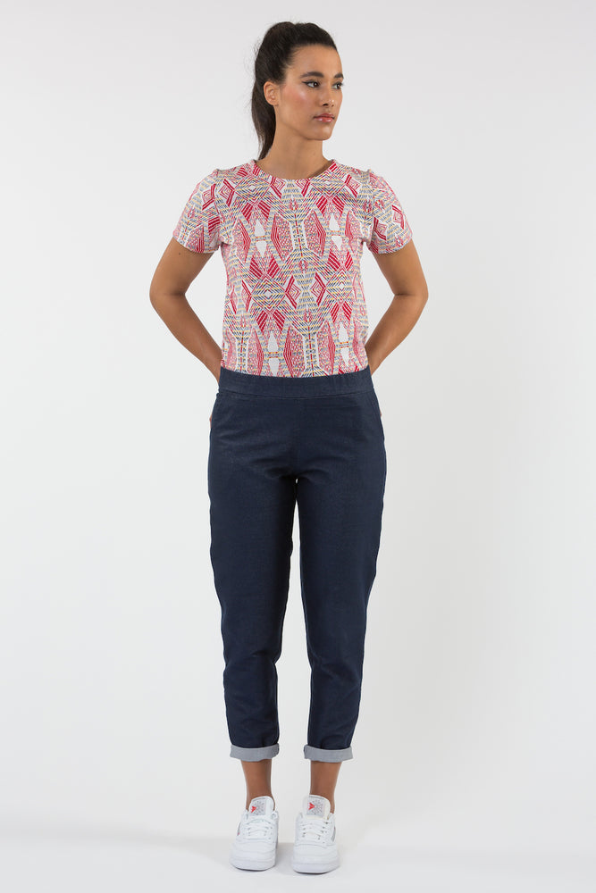 Jean Nana marin - Pantalon - Carrousel Clothing