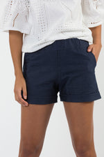 Short Lori denim marin