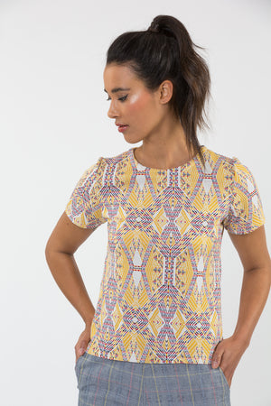 Top Winona jaune - Top - Carrousel Clothing