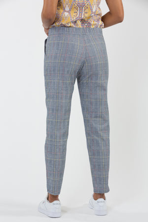 Pantalon stretch coupe cigarette fabriqué en France Carrousel
