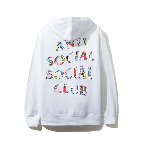 ASSC X BT21 Collab - Blended White Hoodie