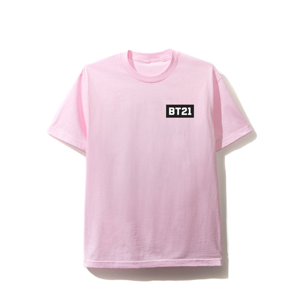 ASSC X BT21 Collab - Blended Pink Tee