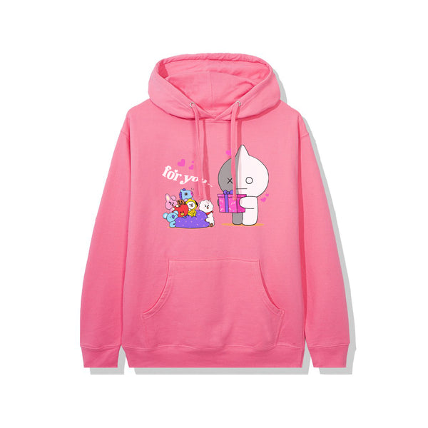 BT21 For You Hoodie - Neon Pink