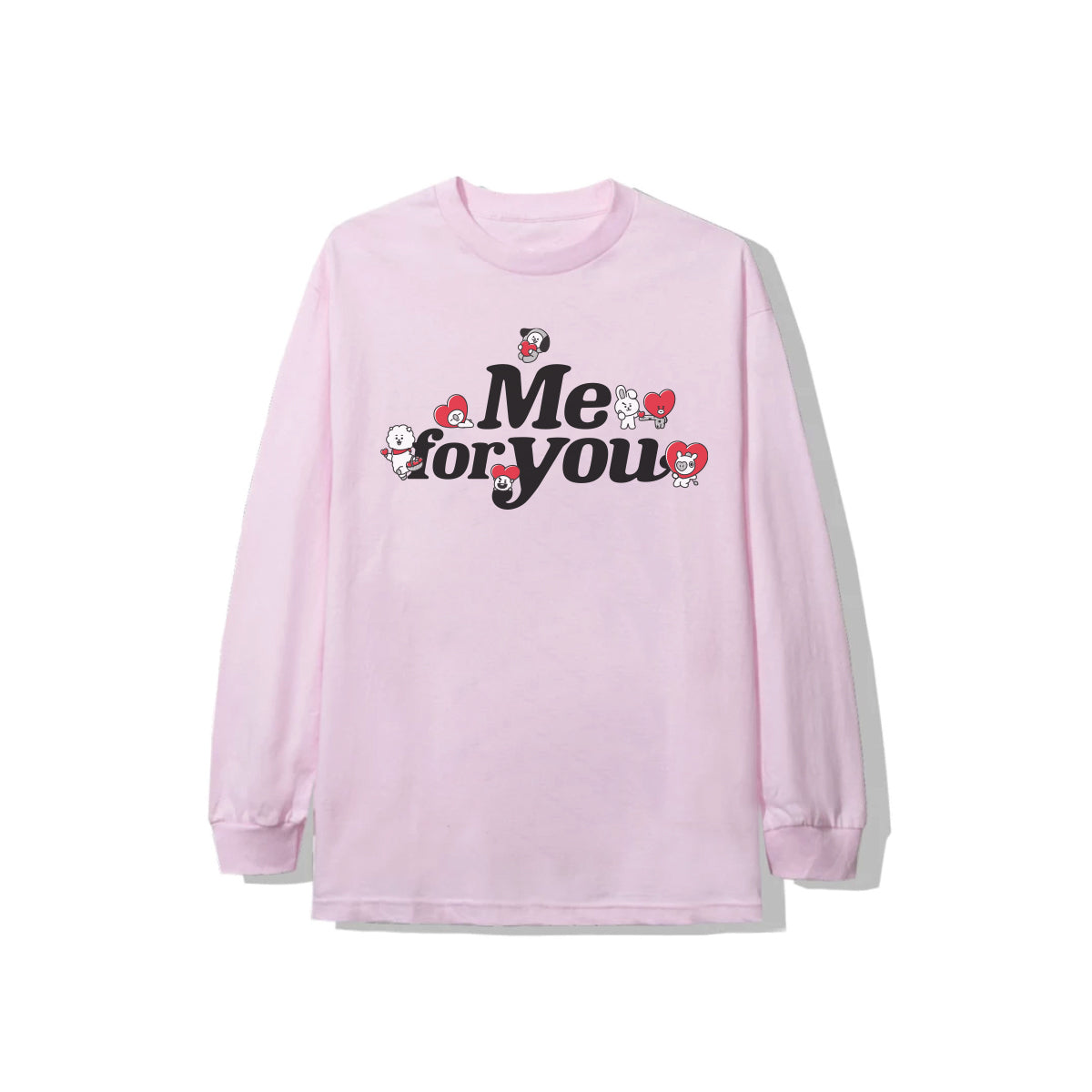 With Love Long Sleeve - Light Pink