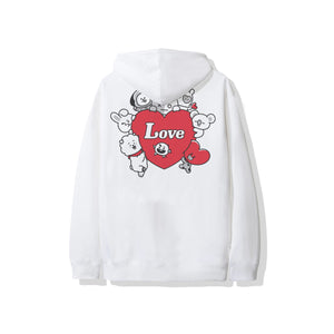 With Love Hoodie - White