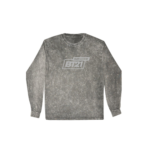Run Club Long Sleeve - Mineral Wash Grey