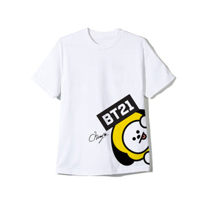 CHIMMY White Logo Tee