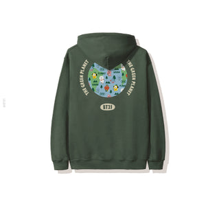 Green Planet Hoodie - Green