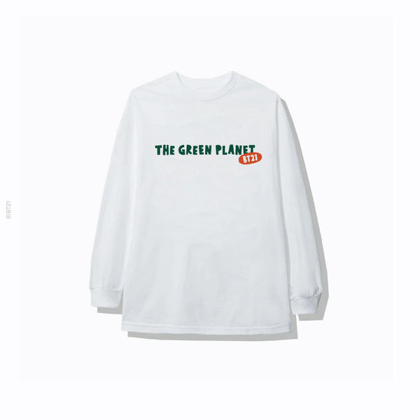 Badge Long Sleeve - White