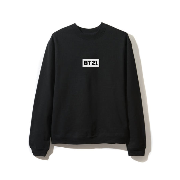 Octo Black Crewneck