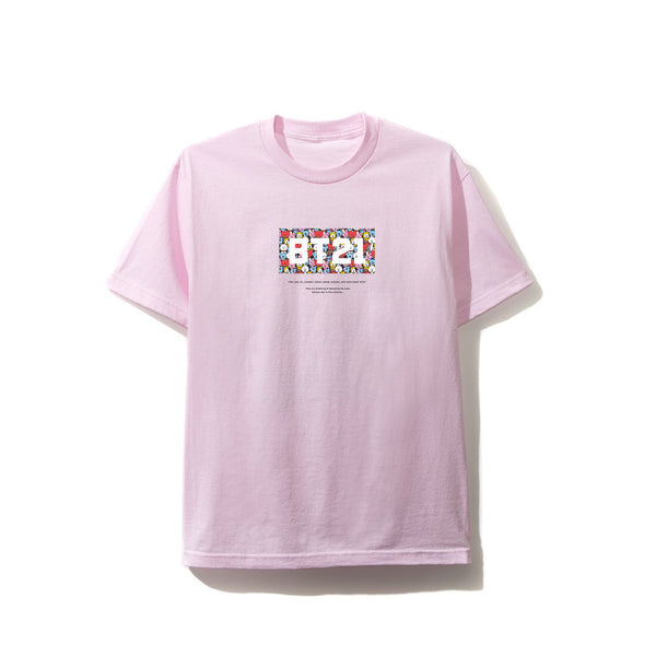 Puzzled Pink Tee